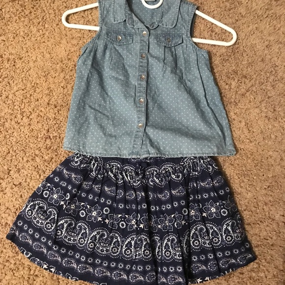 OshKosh B'gosh Other - Little girls skirt set